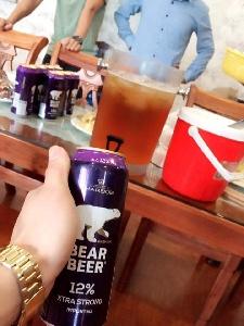DRINKING BEAR BEER 12%